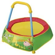 Baby's first trampoline _hardly used